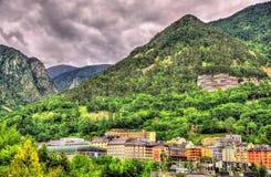 Mountains near Andorra la Vella Royalty Free Stock Photo