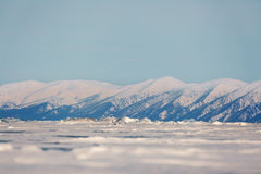 Mountains near Baikal Royalty Free Stock Photo