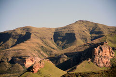Mountains near Clarens (South Africa) Stock Image