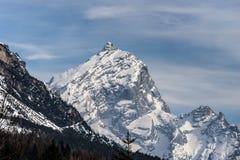 Mountains near Cortina d'Ampezzo. Dolomite Mountains near Cortina d'Ampezzo Royalty Free Stock Photos