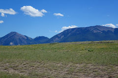 Mountains near Dillion, Montana Royalty Free Stock Image