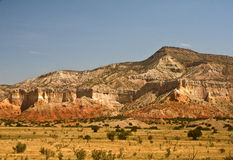Mountains near Ghost Ranch. And Abiquiu just north of Santa Fe, New Mexico stock images