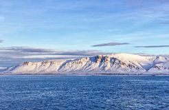Mountains near Iceland Stock Image