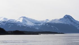 Mountains near Juneau Alaska Stock Photography