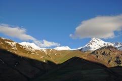 Mountains near Kazbegi in Georgia Stock Photography