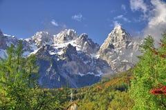 Mountains near Kranjska Gora Slovenia Royalty Free Stock Photography