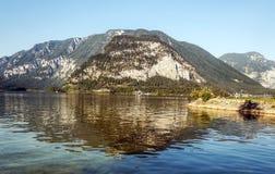 Mountains near a lake Royalty Free Stock Photography
