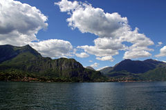 Mountains near Lake Como in Italy Royalty Free Stock Photography