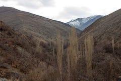 Mountains near Mashhad Stock Photo
