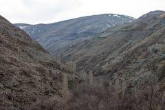 Mountains near Mashhad Stock Image