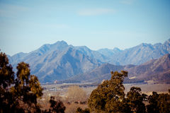 Mountains near Ming Dynasty Tombs in Beijing, China Royalty Free Stock Image