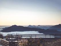 Mountains Near Oceans royalty free stock photos