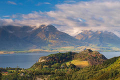 The Mountains near Queenstown New Zealand Stock Images