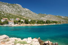 Mountains near Ribarica in Croatia Royalty Free Stock Photos
