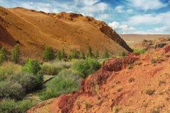 Mountains near the river Tudtuyaryk, Altai Mountains, Russia Stock Photo