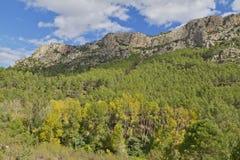 Mountain Penascabia near Bejis. Castellon. Mountains near the source of the river Palancia Royalty Free Stock Photography