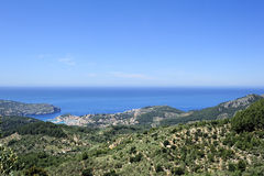 Mountains neare Puerto de Soller Royalty Free Stock Images