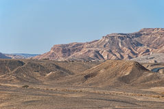 Mountains in negev desert, Israel Royalty Free Stock Images