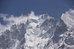 Mountains of Nepal Royalty Free Stock Images