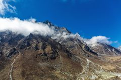 Mountains of Nepal Royalty Free Stock Photos