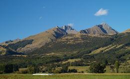 Mountains in New Zealand Stock Images