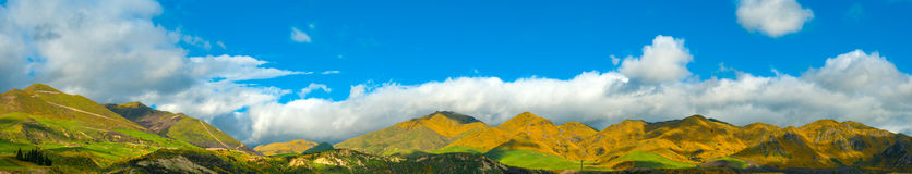 Mountains of New Zealand Stock Photography