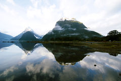 Mountains In New Zealand Mystery Nature Concept Royalty Free Stock Photo