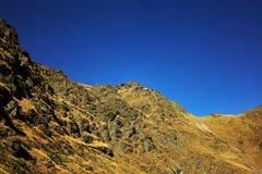 Mountains at night Royalty Free Stock Image
