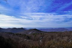 Mountains on the north/south carolina border Stock Image