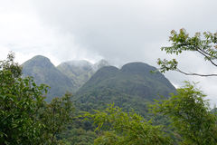 Mountains in North Vietnam Royalty Free Stock Images