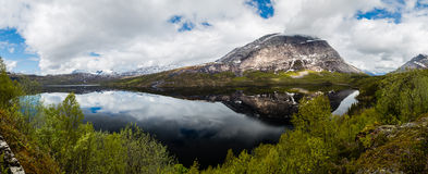 Mountains in Norway Stock Image