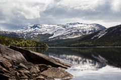 Mountains in Norway Royalty Free Stock Photo