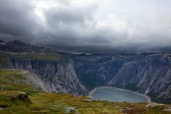 Mountains in Norway Royalty Free Stock Images
