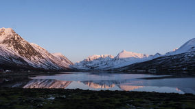 Mountains in Norway Stock Photography