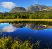 Mountains in Norway. Jotunheimen National Park Stock Images