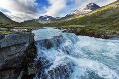 Mountains in Norway. Jotunheimen National Park Stock Photos