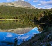 Mountains in Norway. Jotunheimen National Park Royalty Free Stock Photos