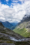 Mountains in Norway Stock Images