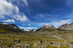 Mountains in Norway Royalty Free Stock Photos
