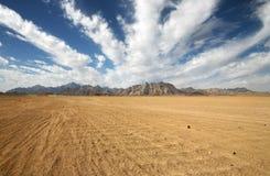 Mountains of nubian desert Stock Photo