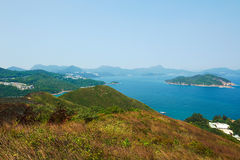 Mountains and ocean Stock Photography