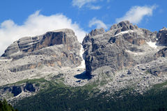 Mountains Of Dolomiti Di Brenta, Italy Stock Photography