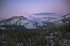Mountains Of Yosemite National Park Royalty Free Stock Images