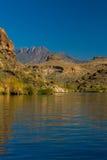 Mountains Off An Arizona Lake Royalty Free Stock Photo