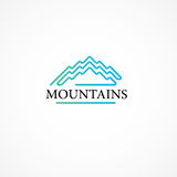 Mountains. Royalty Free Stock Images