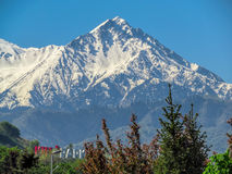 Mountains over Almaty Stock Photography