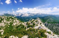 Mountains of Paklenica National Park, Croatia stock photos