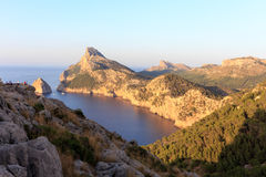 Mountains in Palm Majorca Royalty Free Stock Photography