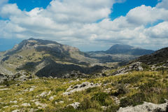 Mountains in palma de mallorca Royalty Free Stock Photography