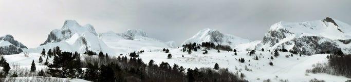 Mountains pano Stock Photography